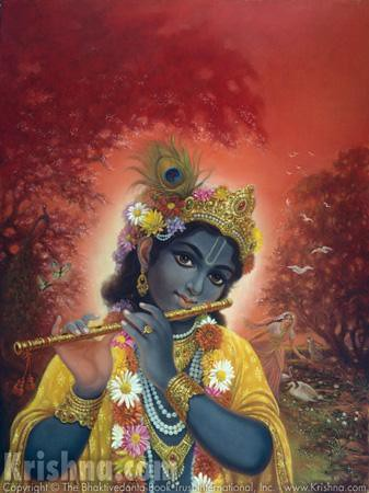 Krishna is Shyamasundara