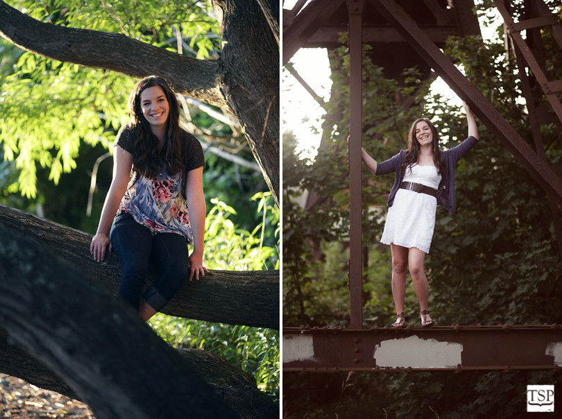 Little Squalicum Park Senior Portrait