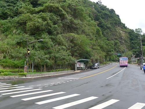 石碇往坪林的入口山路