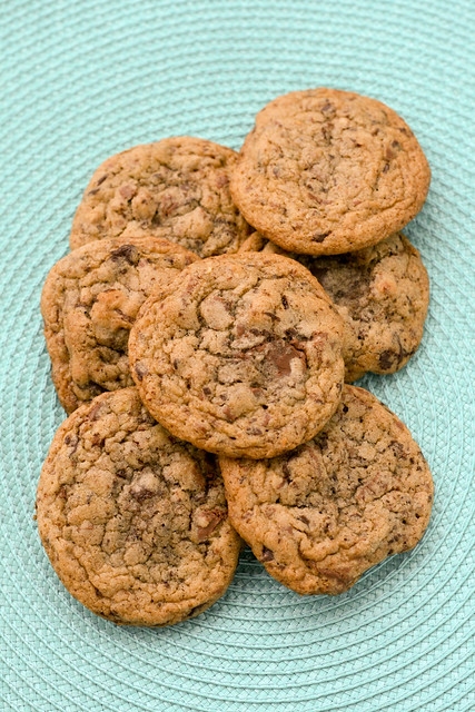 Chocolate Chip Cookies with Pecans