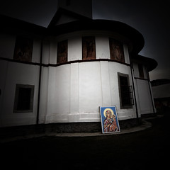 icon (fusion-of-horizons) Tags: art church monument mystery architecture de outside photography photo icons fotografie exterior photos arts picture murals philosophy icon plastic monastery romania language eastern orthodox plato cheia iconography appearance biserica romana romanian theology prahova roumanie orthodoxy bor ontology ortodox theotokos incarnation ortodoxa ma