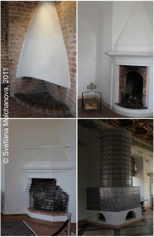 Castle's fireplaces