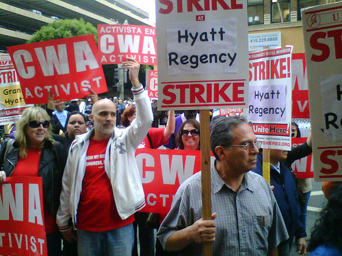 Hyatt California Picket