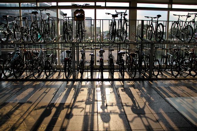 35 St. Station Bikes