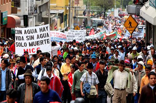 ECUADOR INDIGENOUS PROTEST