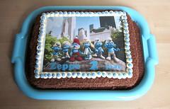 Zeppe2 smurfen (semivi) Tags: cake smurfs birhtday smurfen semivi