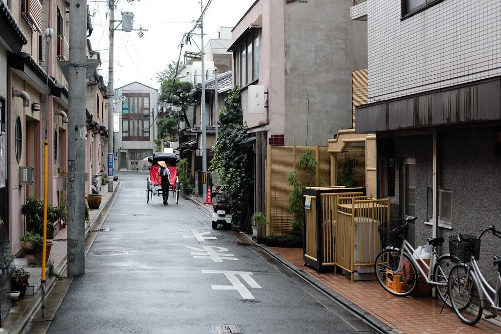 Sidestreet in Kyoto