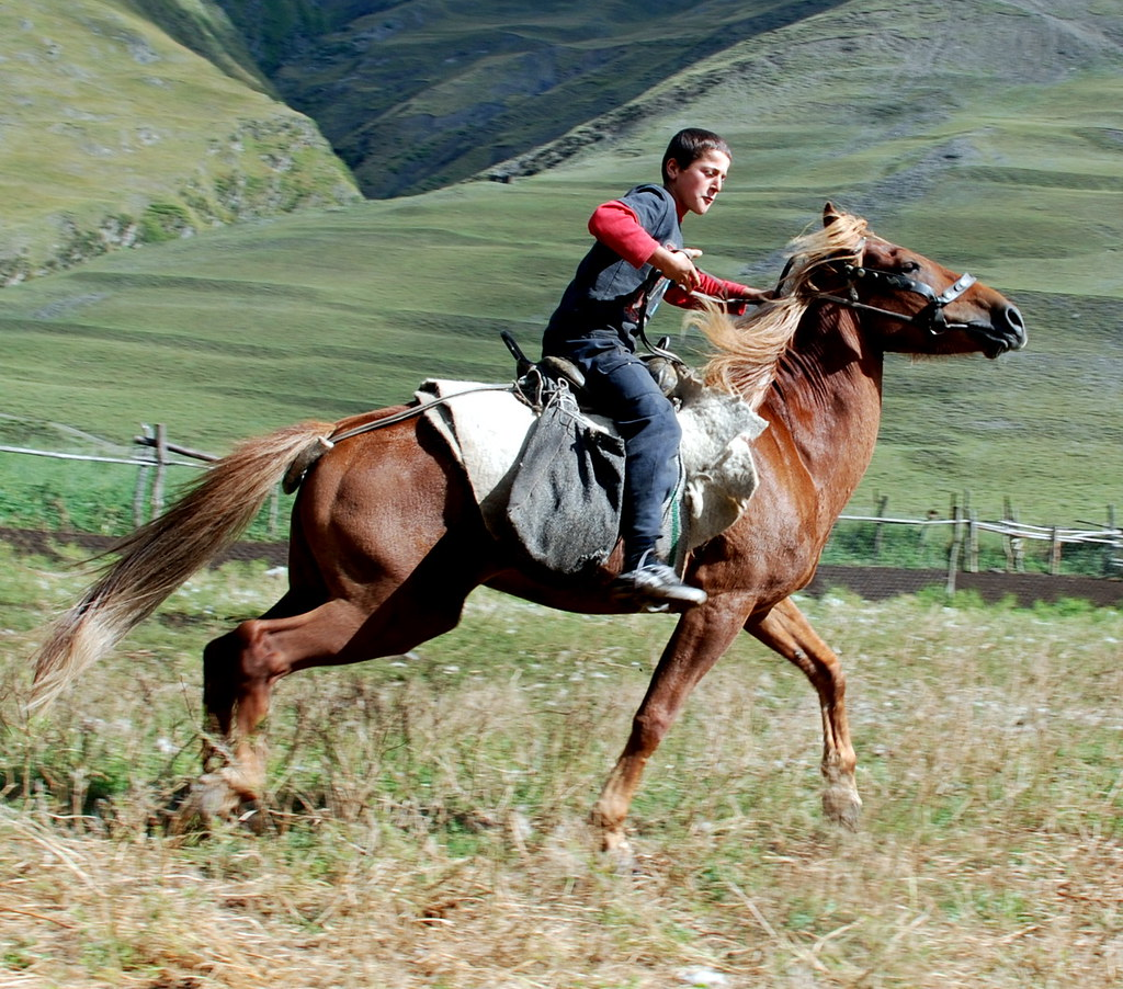 On horse photo 99