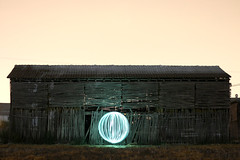 Ball of Light (fran ortega) Tags: santa light verde ball paint fran fotos granada fe ortega facebook albolote esfera secadero fisiogramas