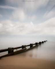 d r e a m (Scott Howse) Tags: uk longexposure sea england sky coast seaside resort lee dorset filters groyne swanage graduated nd110 09h