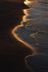 Golden Glow (Keo6) Tags: sea sun sand blinkagain