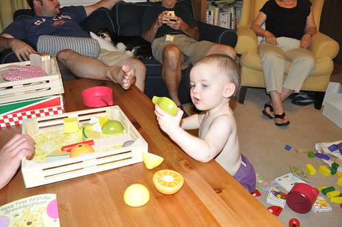 August 16, 2011 - Janie Is One!