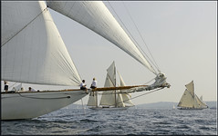 Soon - i will see them again! (mhobl) Tags: boats sailing sail regatta 2009 sylvia eleonora sainttropez moonbeamiii eleonora5