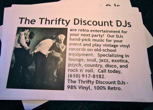 The Thrifty Discount DJs - 98% Vinyl 100% Retro