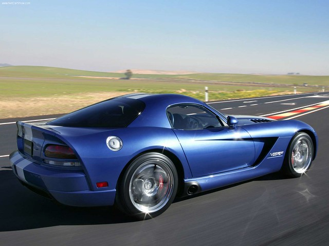 2005 auto blue cars car automobile voiture bleu coche dodge viper coupe supercars srt10 véhicule
