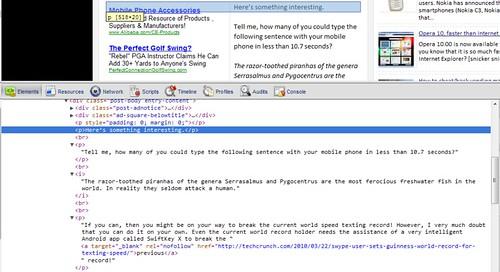 Blogger-HTML-p-tags