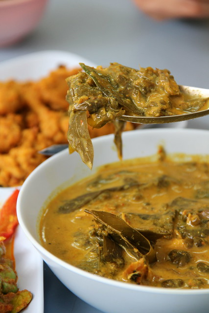 Gaeng Kee Lek (แกงขี้เหล็ก) - Cassia Leaf Curry