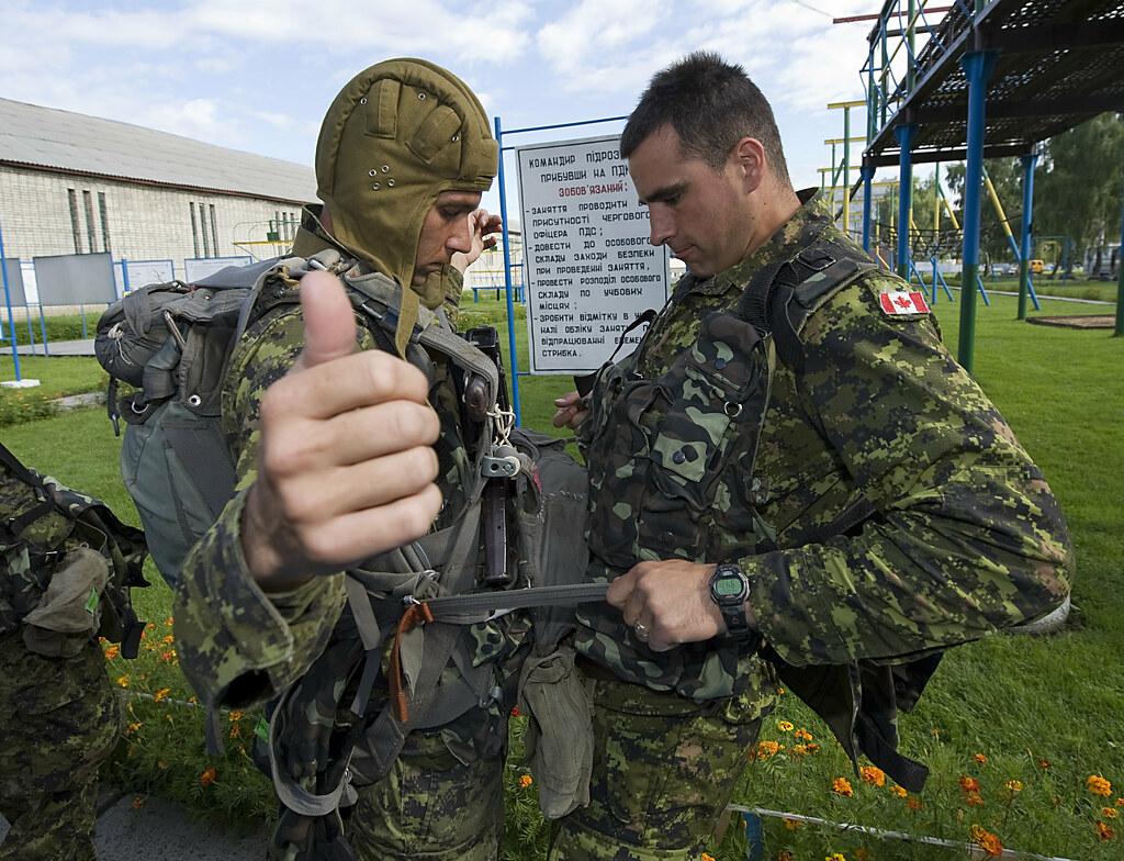 Ukrainian Basic Parachute Training Course
