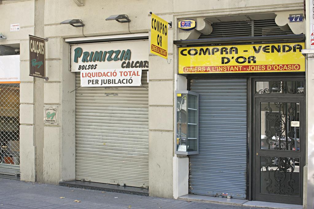 Buy Gold, Barcelona. July 2011