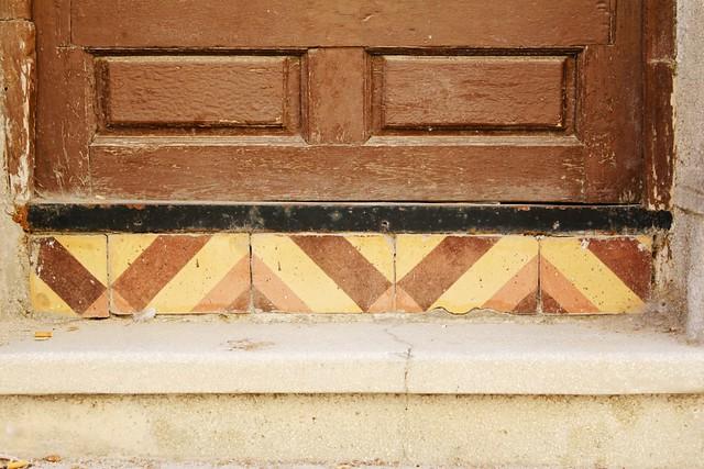 nice tile detail
