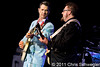 Chris Isaak @ Meadow Brook Music Festival, Rochester Hills, MI - 08-11-11