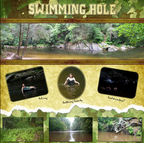 CampingScrapbook-Swimming Hole