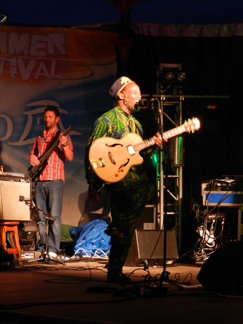 Natty Wailer gig at Bray Summerfest 2011