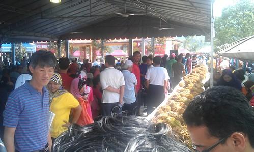 Suasana Pesta Durian Perak 2011