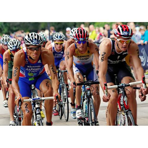 Triathlon world chamiponship series, Hyde Park, London