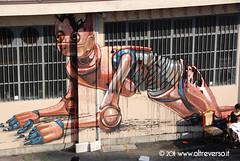 Factory via Foggia 28 (OltreversoLab) Tags: streetart writing torino factory murales stencilart arteurbana graffittismo oltreverso viafoggia28