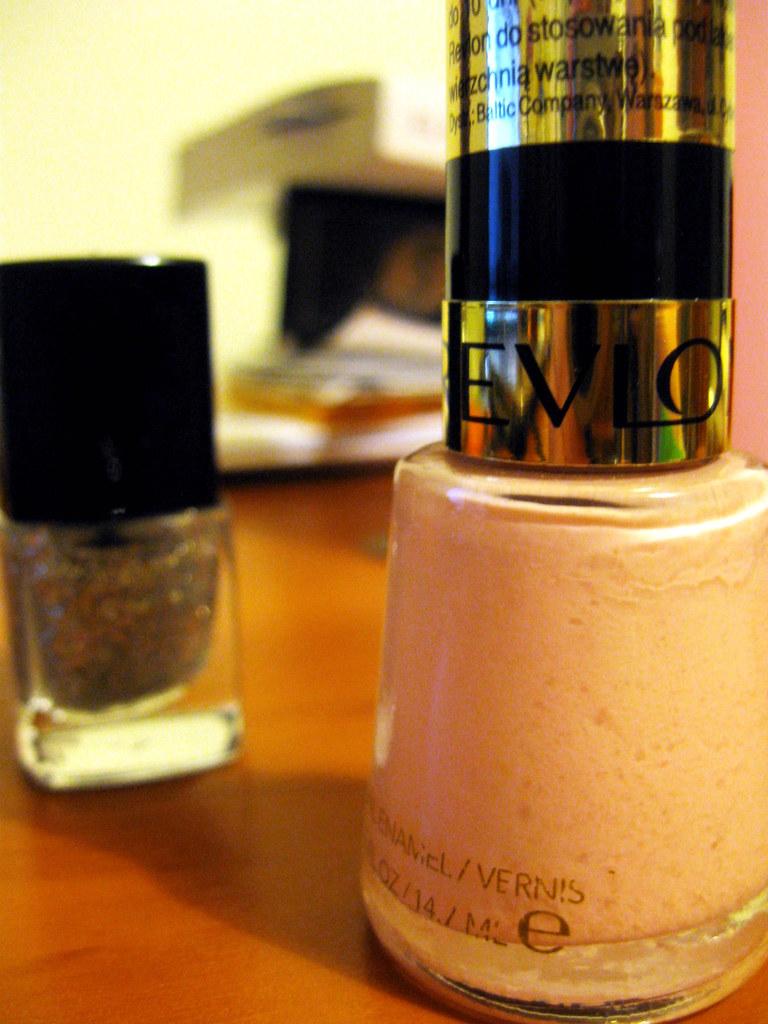 Peach Petal+Glitter