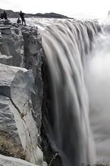 Dettifoss waterfall, Iceland ((MORE)(THAN)(LIFE)) Tags: travel bw nature canon waterfall iceland natural outdoor filters canonef2470mmf28lusm 77mm 50d otdoor canonllens landoffireandice canon50d neutraldensityfilter18 icelandinaugust