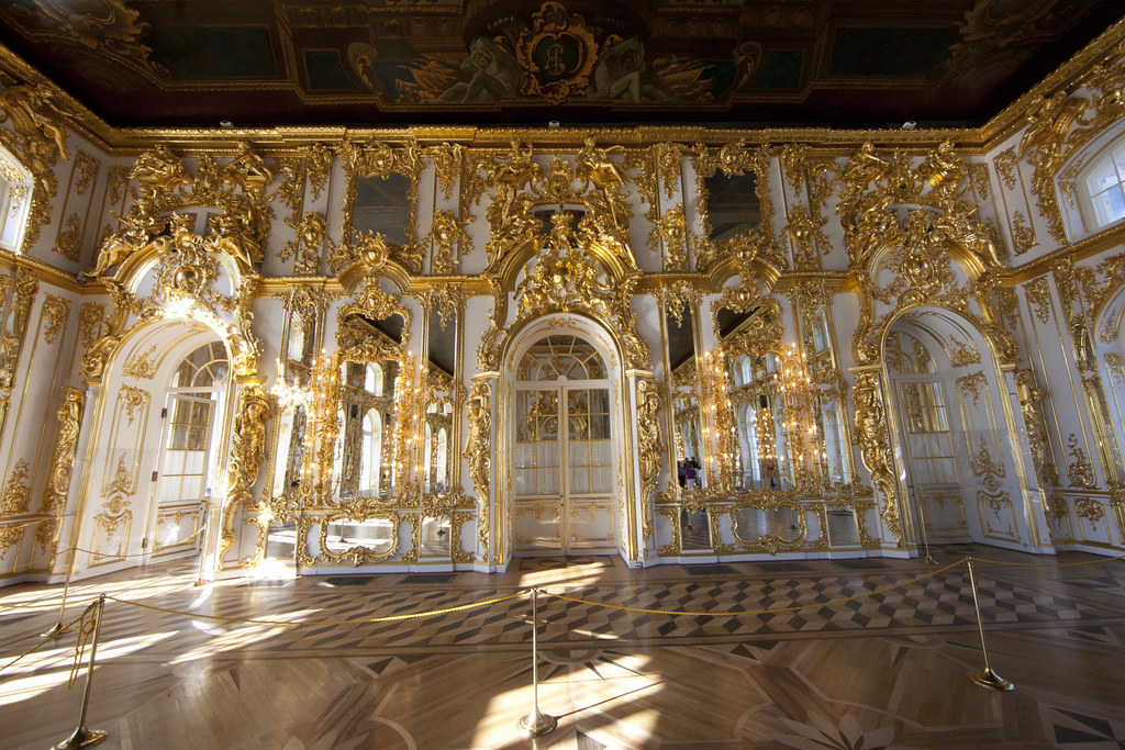 Catherine Palace at Pushkin - Great Hall, or Hall of Light
