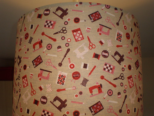 Lampshade fabric