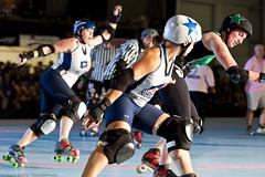 20110813.Rat-Bos_0988 (Axle Adams) Tags: sports portland rollerderby rollergirls skaters derby skates bostonmassacre ratcityrollergirls bdd bostonderbydames rcrg oakspark
