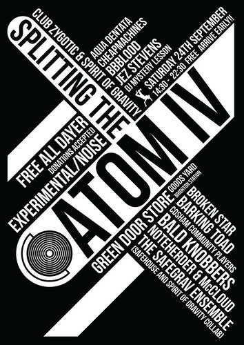 Splitting The Atom IV, 24/09/2011