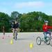 Parcours vélos, il y aussi des tricycles.