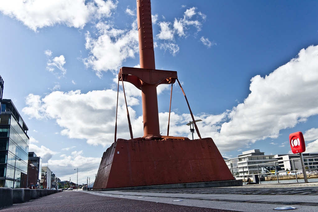Dublin Docklands - The Old Diving Bell