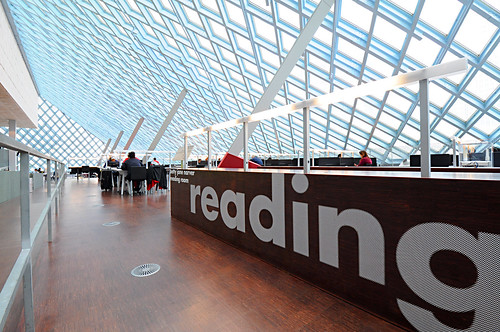 Seattle Central Library - Reading Room