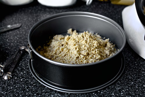 cinnamon hazelnut brown sugar crumbs