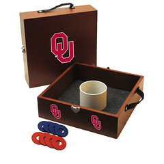 Oklahoma OU Washers Toss Game