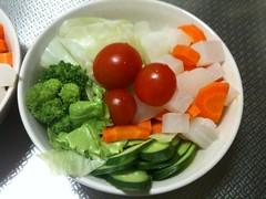 朝食サラダ(2011/8/20)