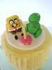 Sponge Bob and T-Rex Cake (punkshimmy) Tags: birthday cake spongebob trex fondant