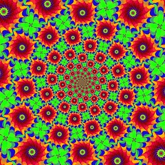 Feuillagefr (Juvabien39) Tags: world trip windows france color art geometric computer circle spiral creativity experimental technology time decay creative dream hippy wave twist evolution center pop creation technic fabric illusion revolution round electro reality fractal why shape 70 60 mystic psy mental vibe