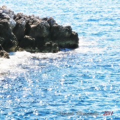 Stop and relax (Margall photography) Tags: blue light sea rock relax photography mare martin blu montecarlo monaco cap marco scogli galletto margall