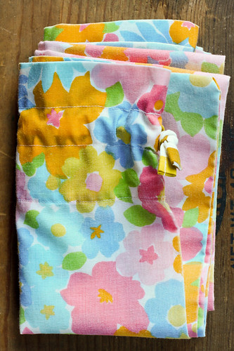 Vintage Pillowcase Laundry Bag by jenib320