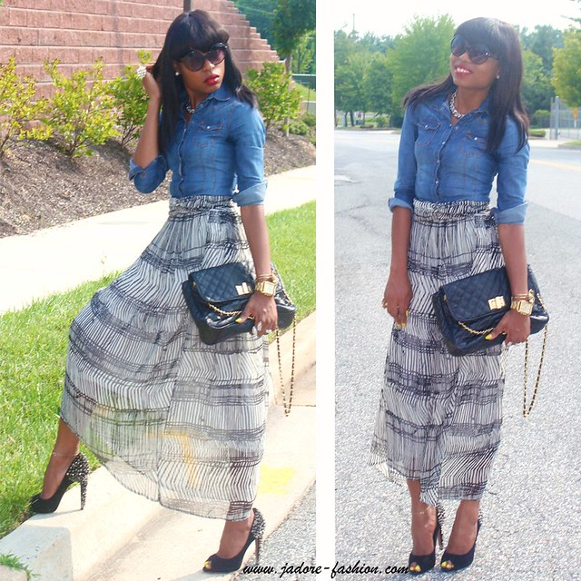 Low high skirt by jadore-fashion.com
