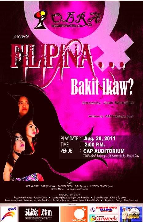 Filipina... Bakit Ikaw?