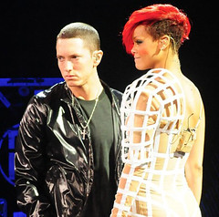 Eminem Joined On Stage At V Festival By Rihanna