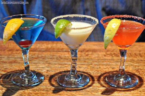 Trio of Mini Martini Flights at Houlihan's ~ Eagan, MN